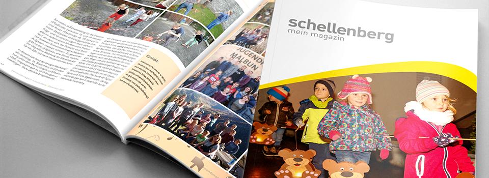 Magazin der Gemeinde Schellenberg 2017