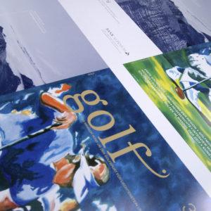 golf Ausgabe 3 Umschlag