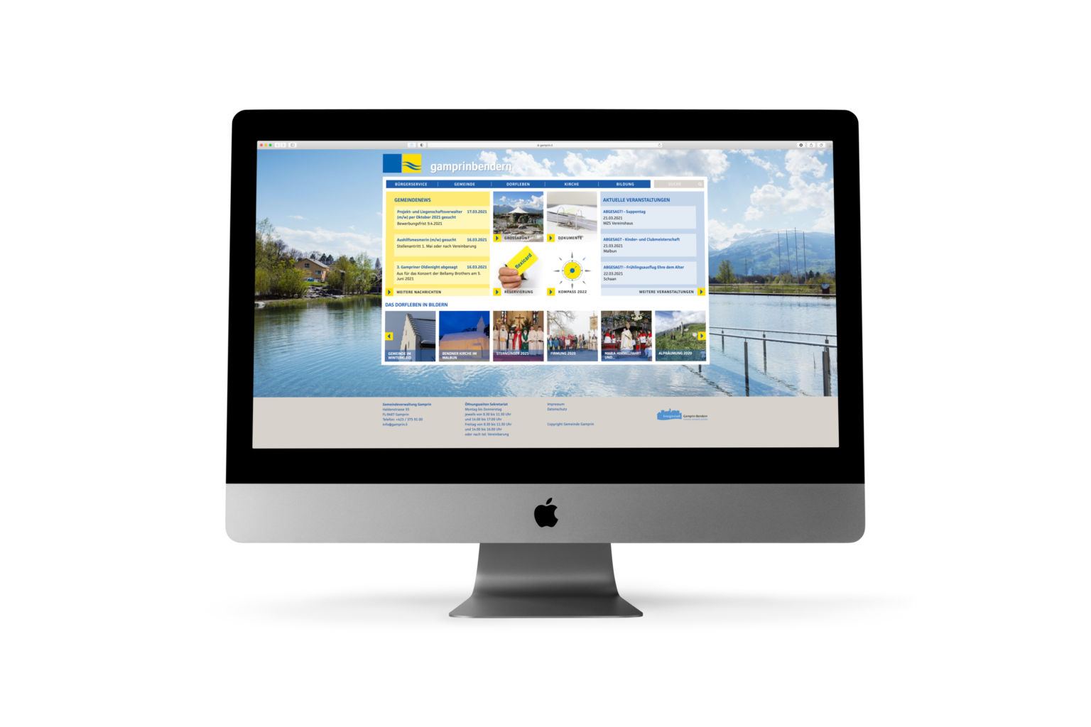 Portal der Gemeinde Gamprin-Bendern